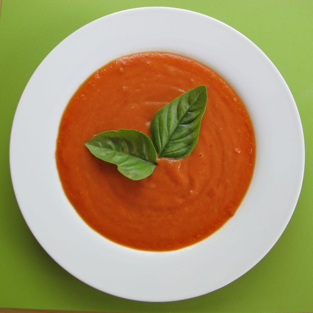Vegan ντοματόσουπα