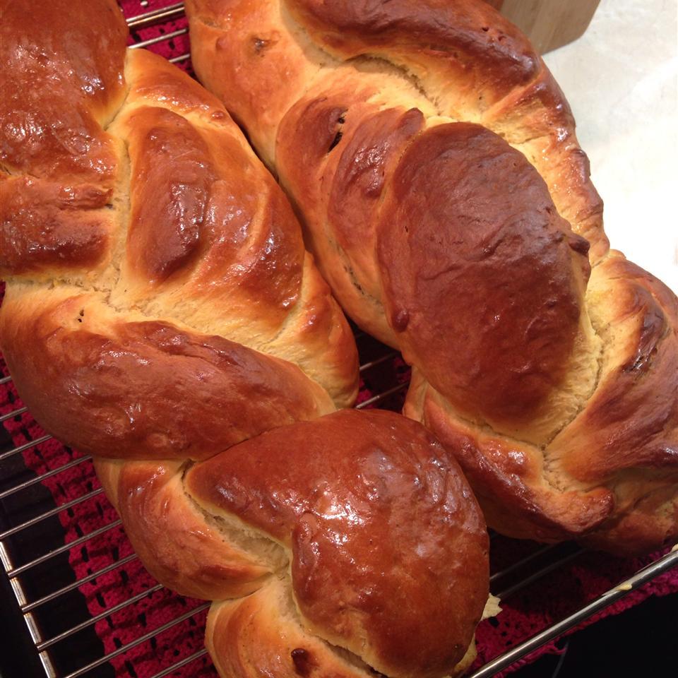 Αγγλικό ψωμί με σαφράν