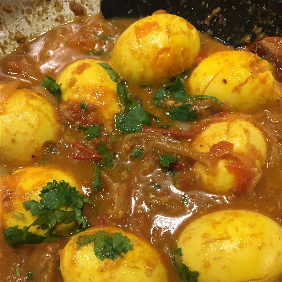 Αυγά στιφάδο Kulambu