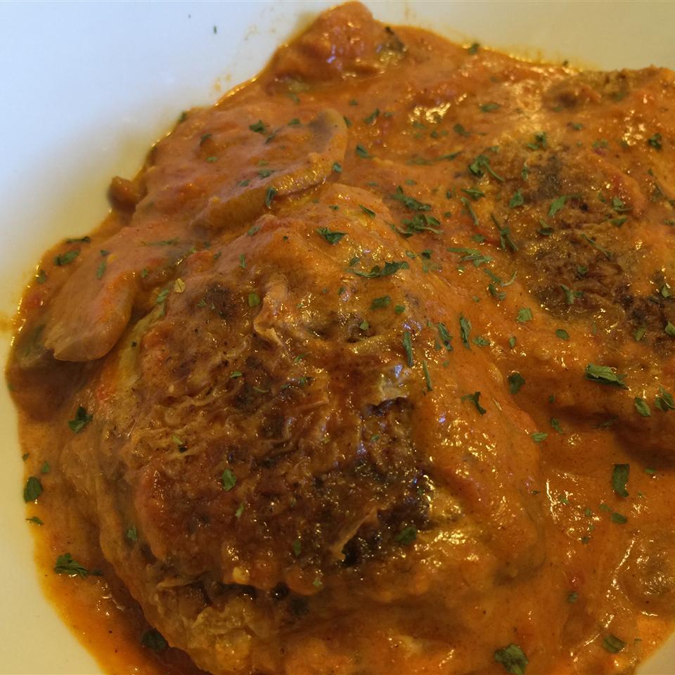 Βραζιλιάνικο κοτόπουλο στρογκανόφ