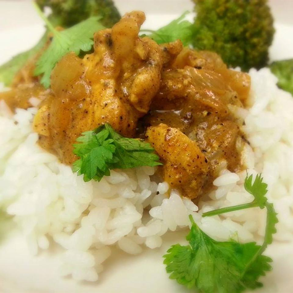 Ινδικό κοτόπουλο με κάρυ