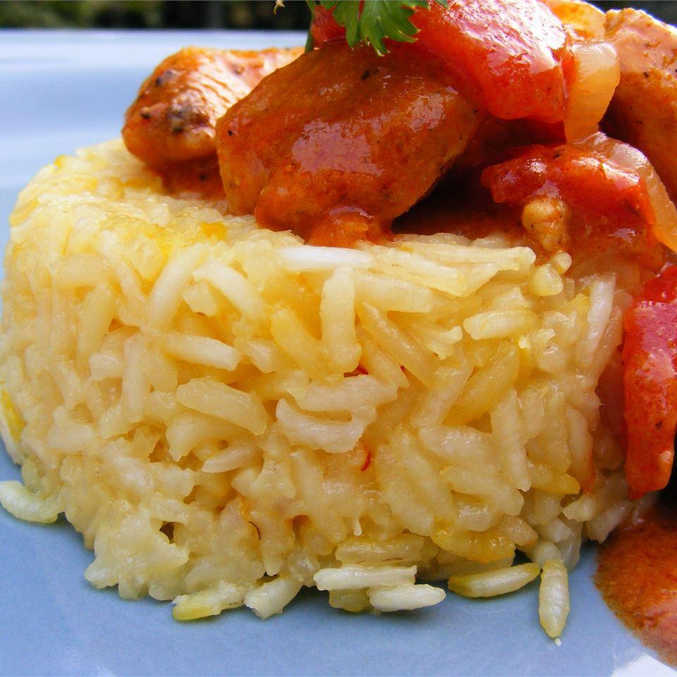 Ινδικό ρύζι με σαφράν