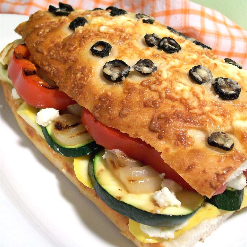 Ψητό σάντουιτς λαχανικών