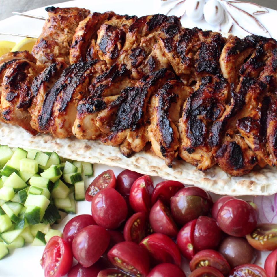 Τούρκικο κοτόπουλο κεμπάπ